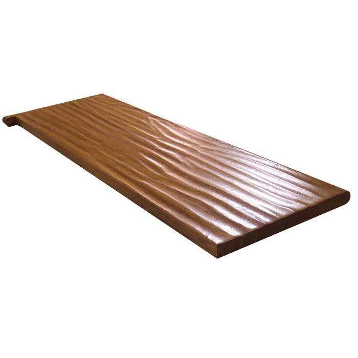 8070 Hand Scraped Stair Treads - StairSupplies™