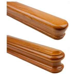Wall Mounted Handrail For Stairs In 25 Wood Species