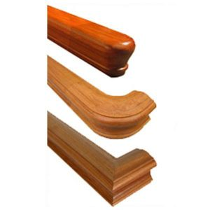 Wood Handrails For Stairs Bending Straight Or Wall Mounting Handrail