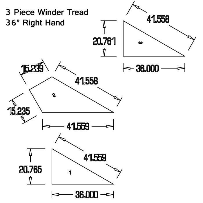 Winder Stair Treads