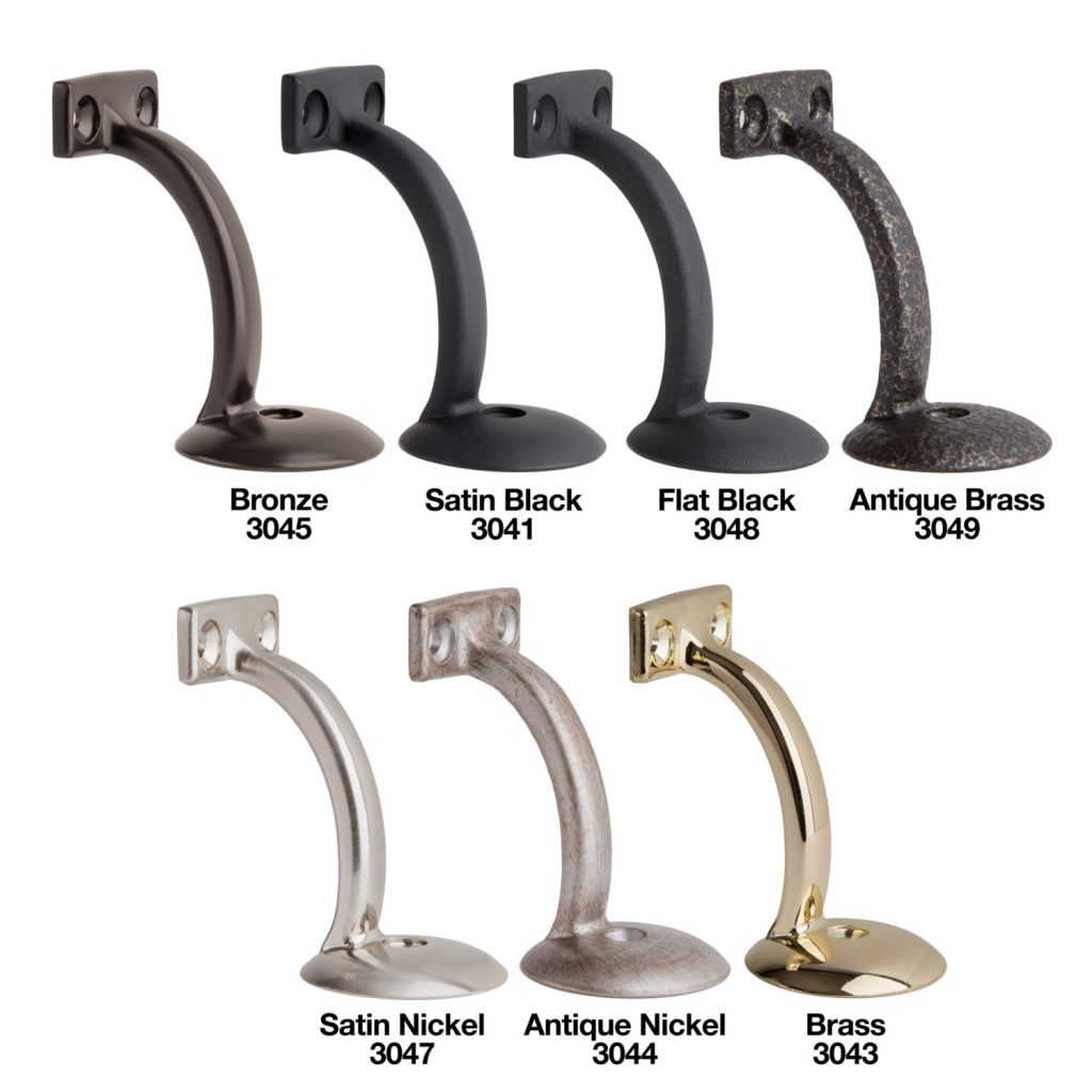 Long Reach Handrail Bracket - Color Options
