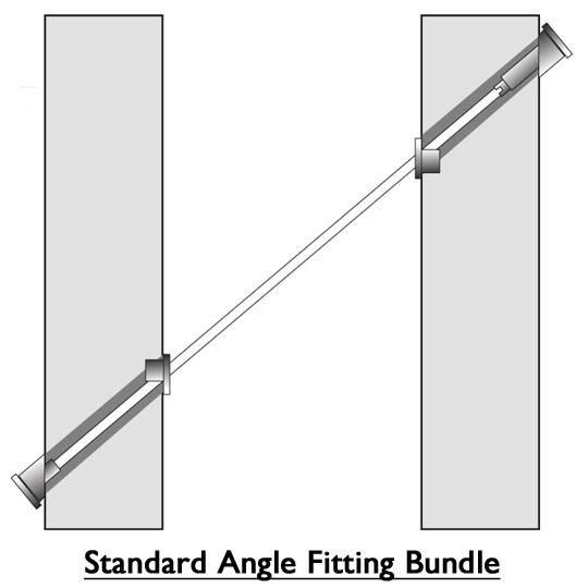 Standard angle fitting bundle diagram