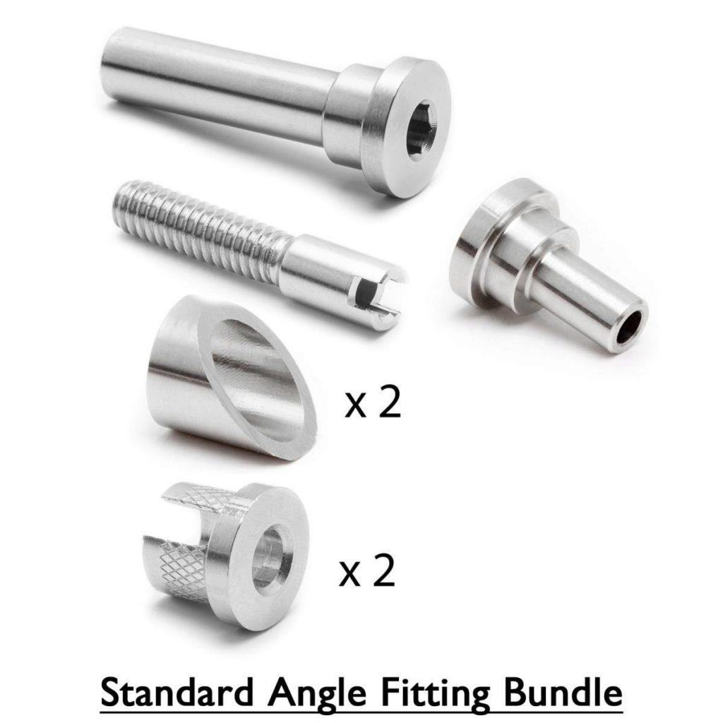 Standard angle fitting bundle fittings