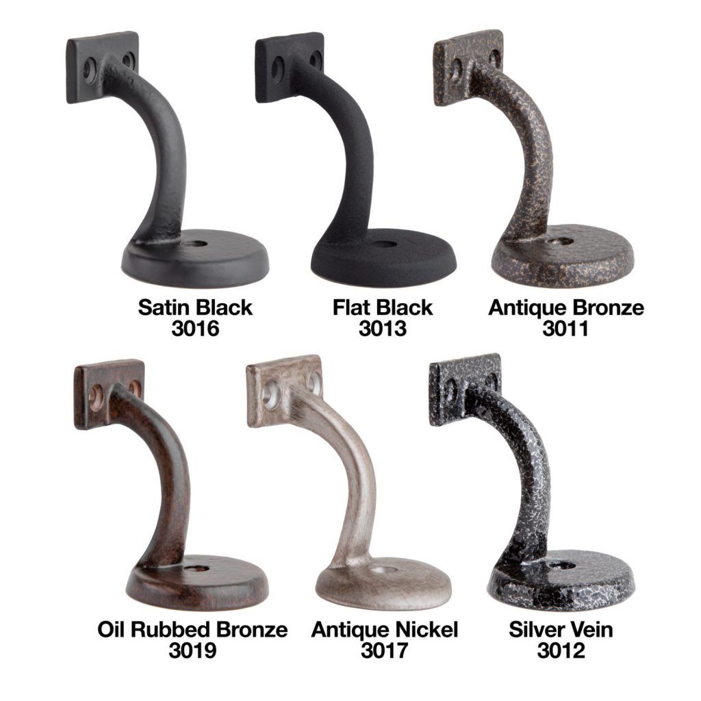 Textured Handrail Bracket - Color Options