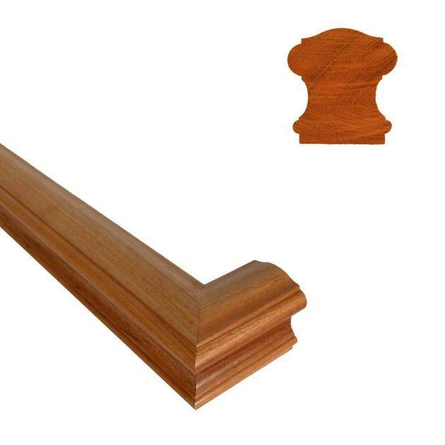 6710 45 deg mitered handrail