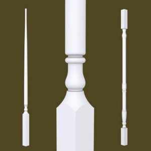 Colonial Series Primed Balusters