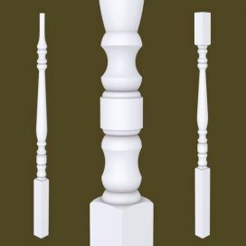 Hampton Series Primed Balusters