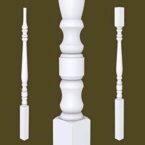 Hampton Series Primed Balusters