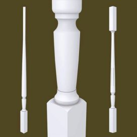 Marion Series Primed Balusters