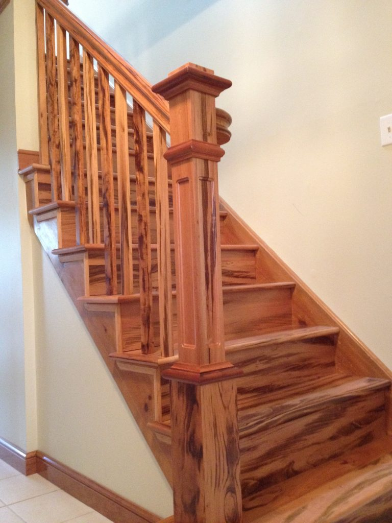 Exotic Wood Stairs