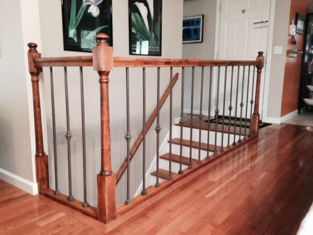 Wrought Iron Baluster Colors