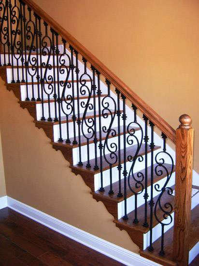 Scroll Series Iron Balusters