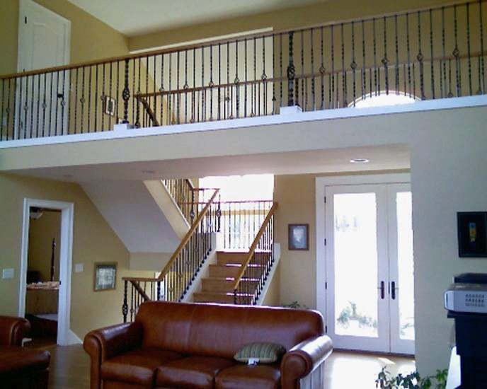 Iron Newels and Iron Balusters