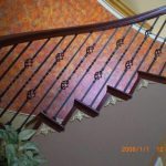 Iron Balusters, Turned Newels, & Bending Handrail