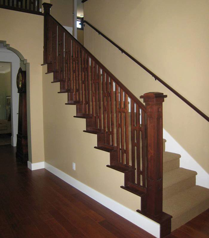 Superbe 8071 False Stair Treads · Wood Balusters With A Modern Twist