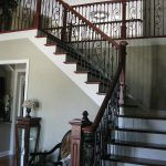 Scroll Series Iron Balusters and Box Newels