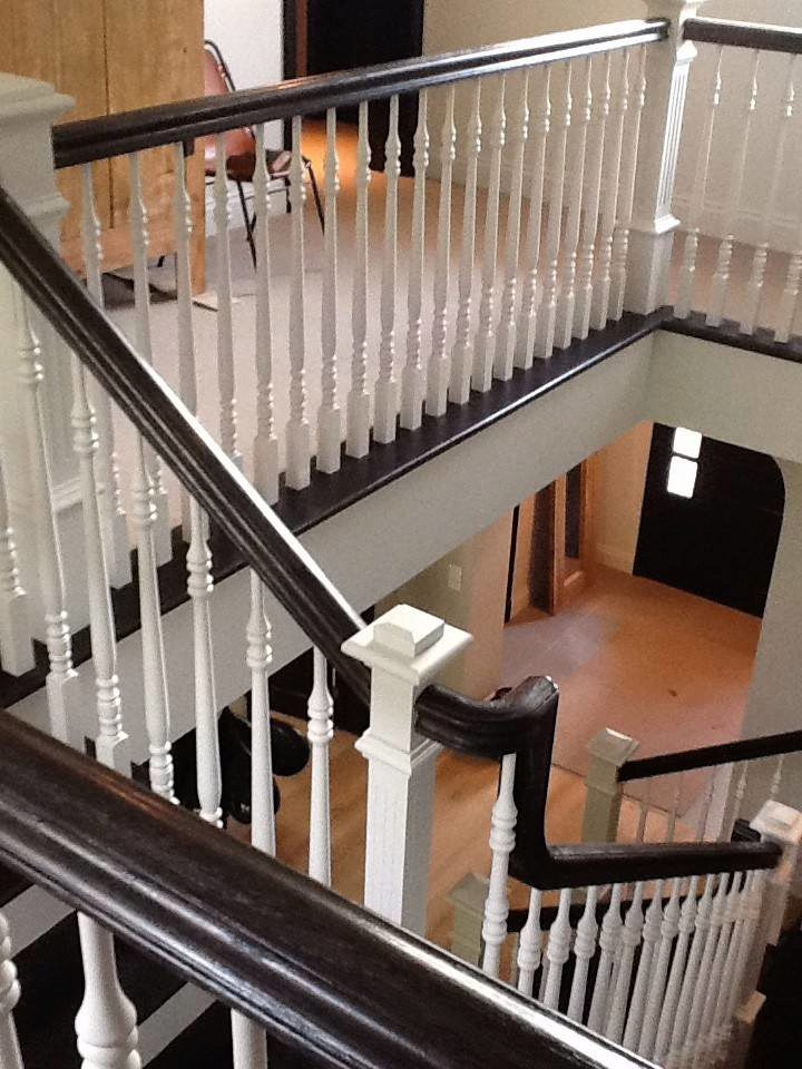 Project 54 ranch style elegance stairsupplies Ranch style staircase