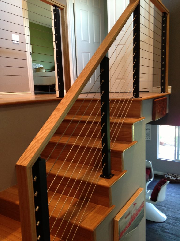 Project 68 custom stair projects stairsupplies for Custom stair