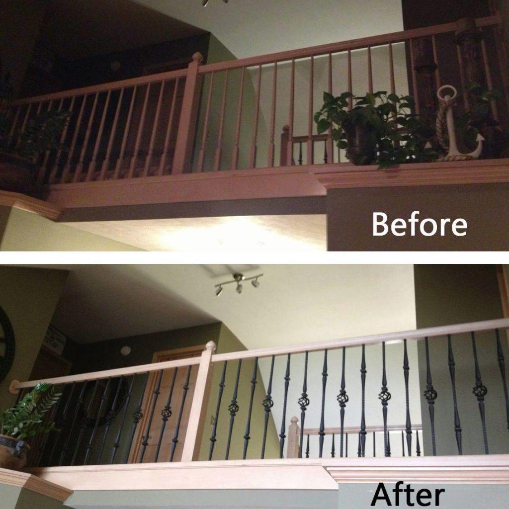 Gothic Iron Balusters- StairSupplies™