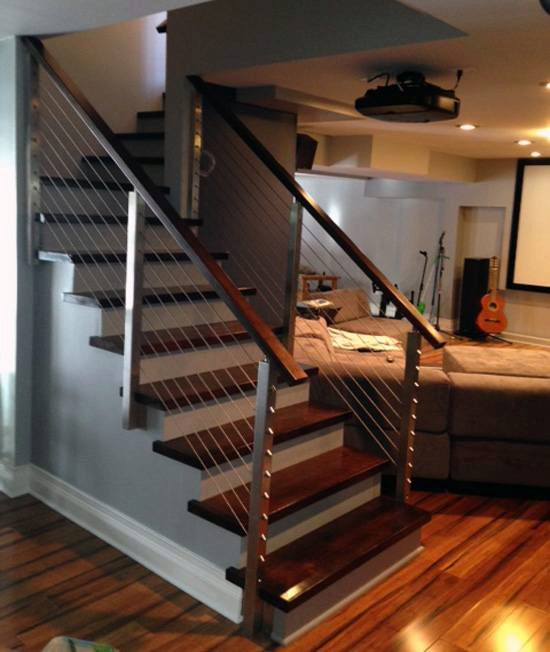 Project 93 Side Mount Stair Railing