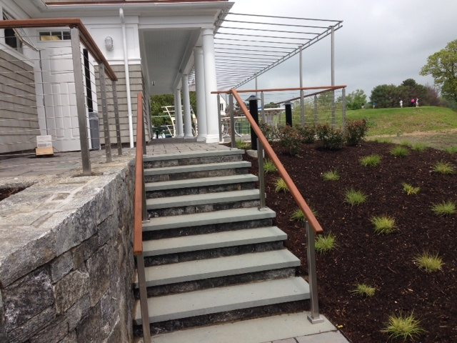 Project commercial cable railing stairsupplies™
