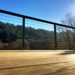 Wood Handrail for Cable Railing