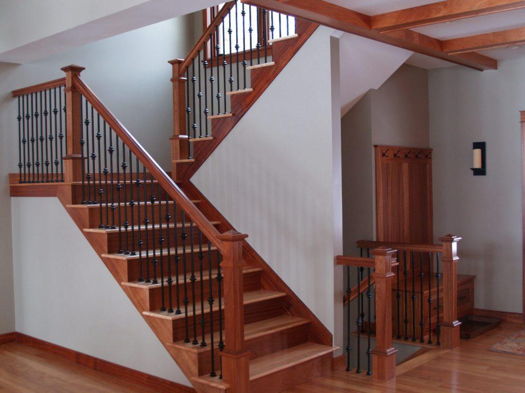 6710 handrail stairsupplies for Interior staircase railing designs