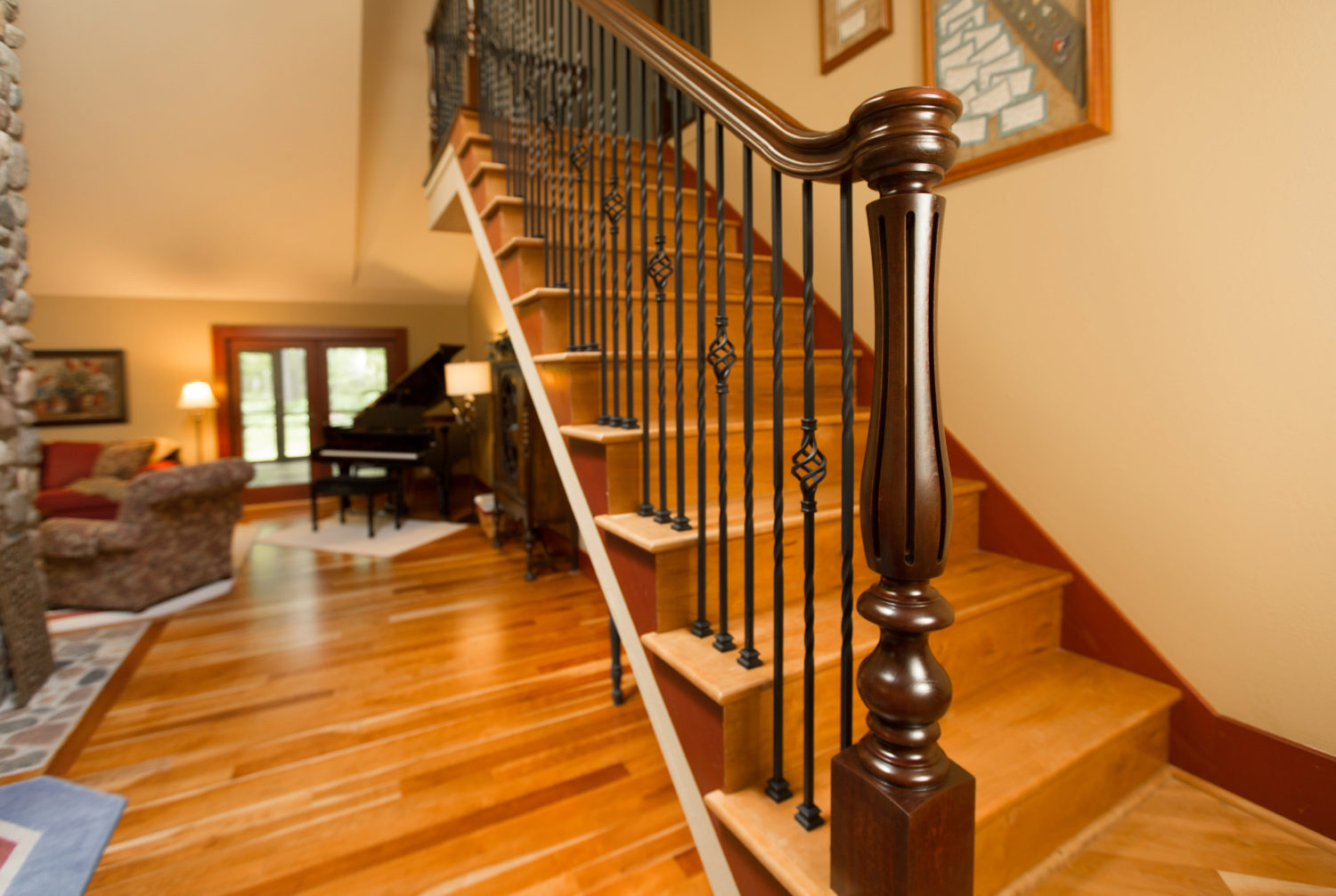 StairSupplies Iron Baluster and Turned Newels Project 156