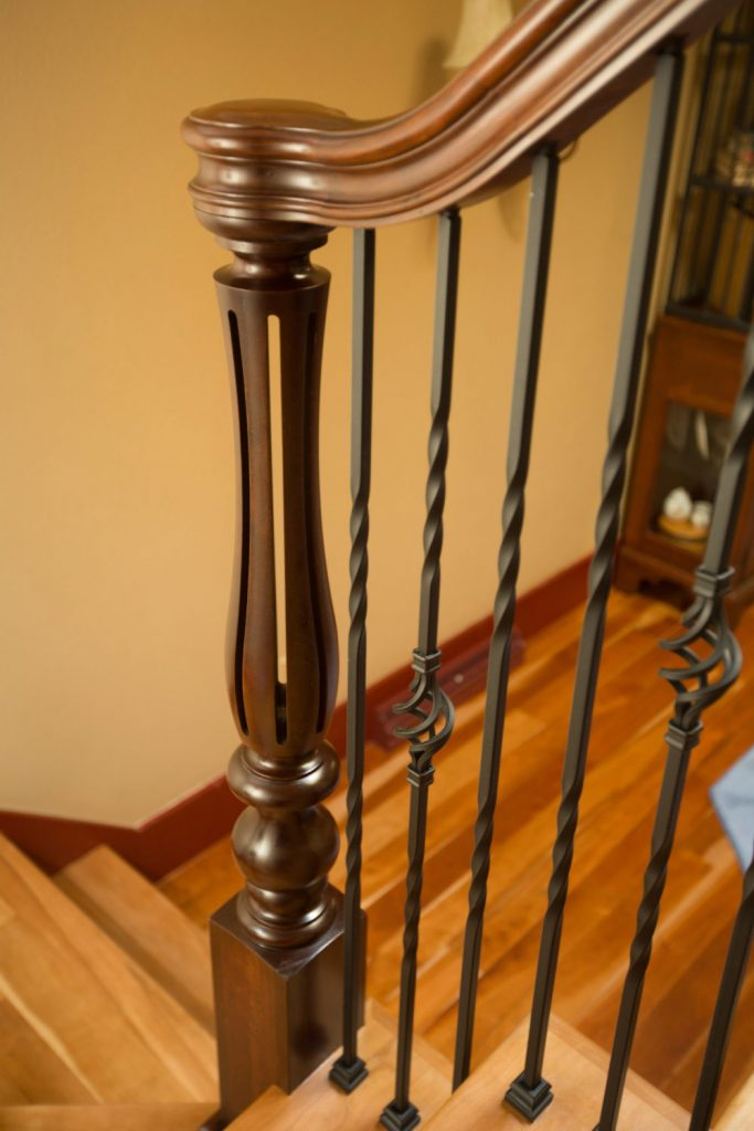 Project 156 Iron Balusters Amp Ornate Turned Newels