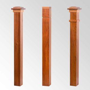 Craftsman Series Box Newels