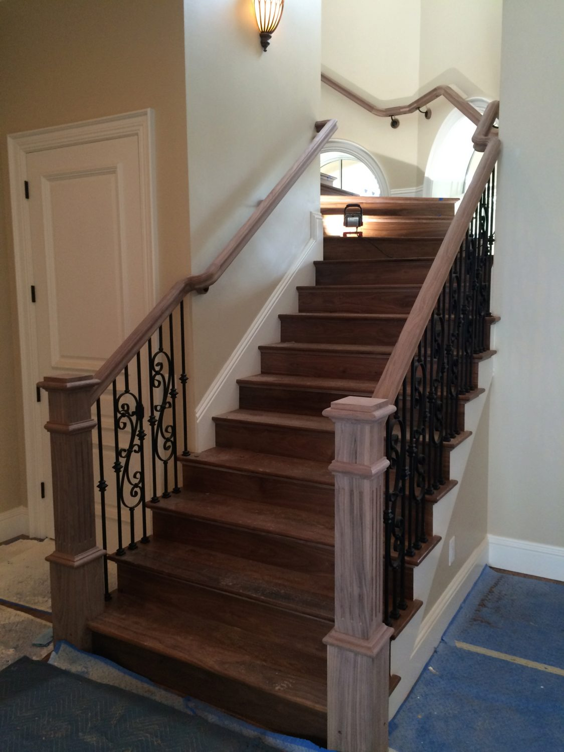 Project 169 Decorative Scroll Iron Balusters