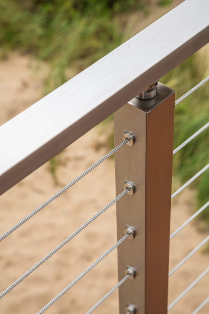 Project # 172 - Stainless Steel Cable Railing Posts ...