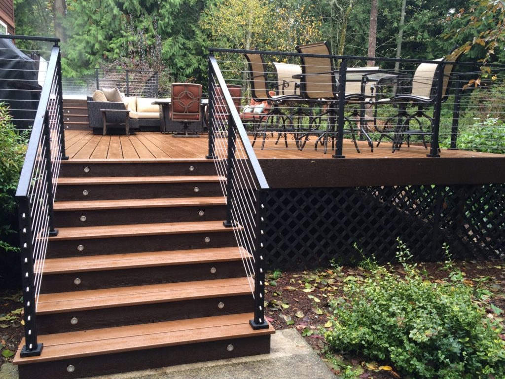 Project cable railing aluminum posts