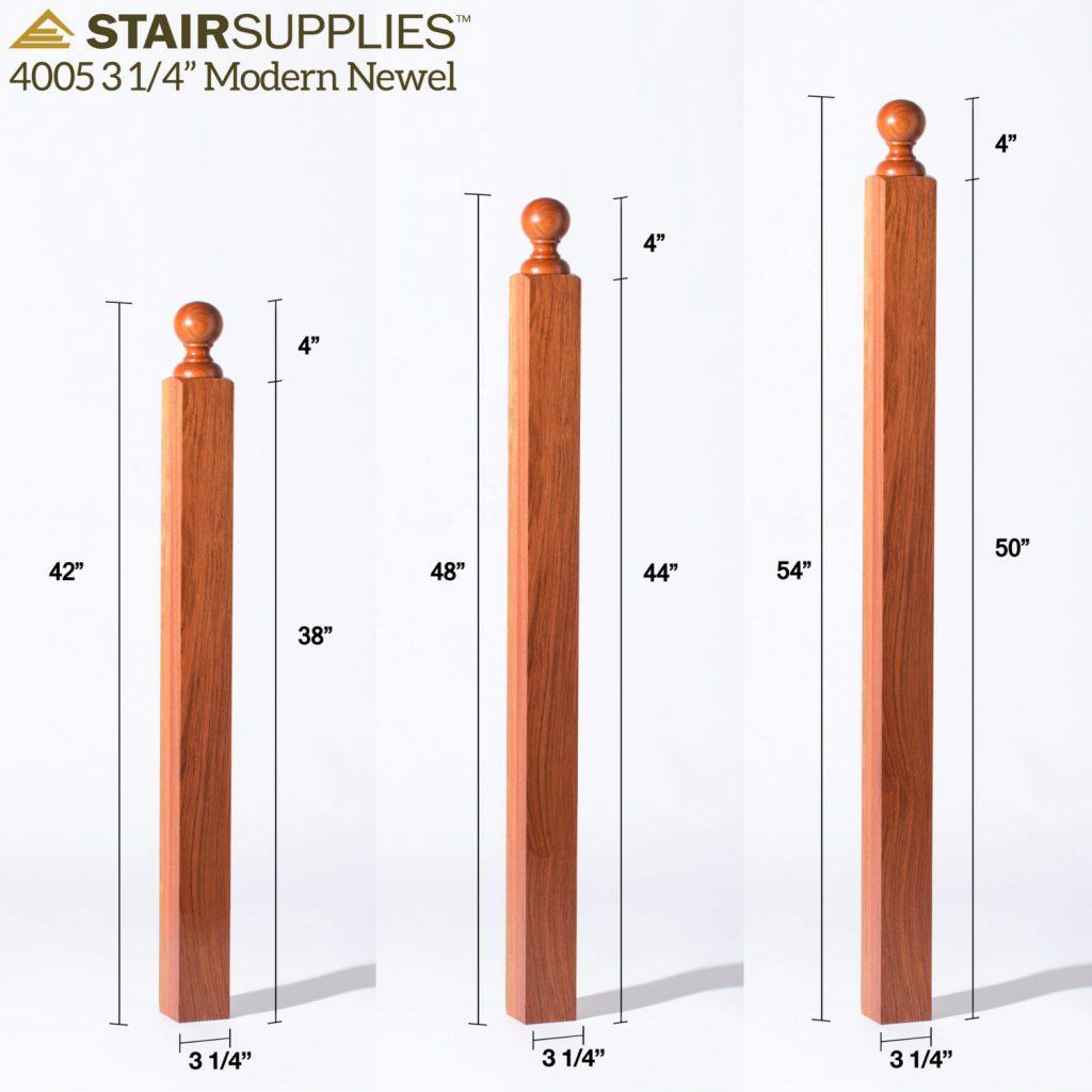 4005 3 1 4 Quot Newel Stairsupplies