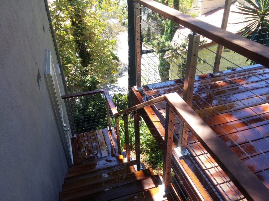 Project 185 Custom Cable Railing Transitions