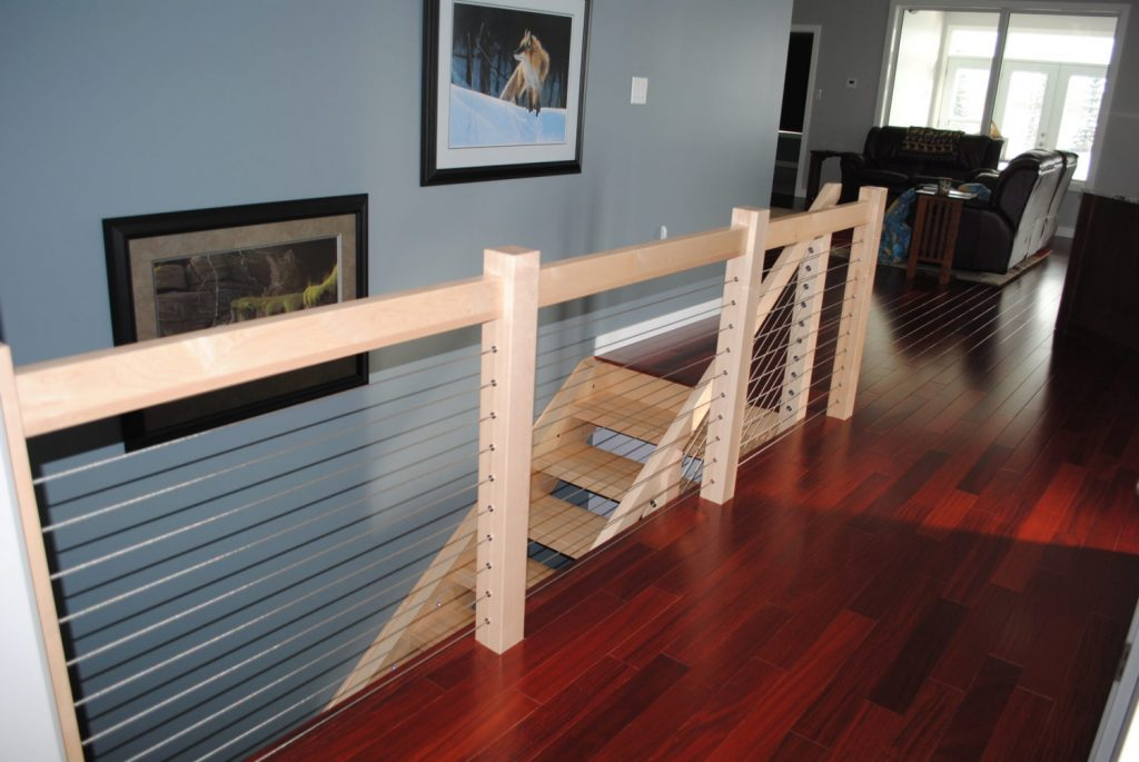 Cable Railing Wood Posts