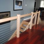 Cable Railing & Wood Posts