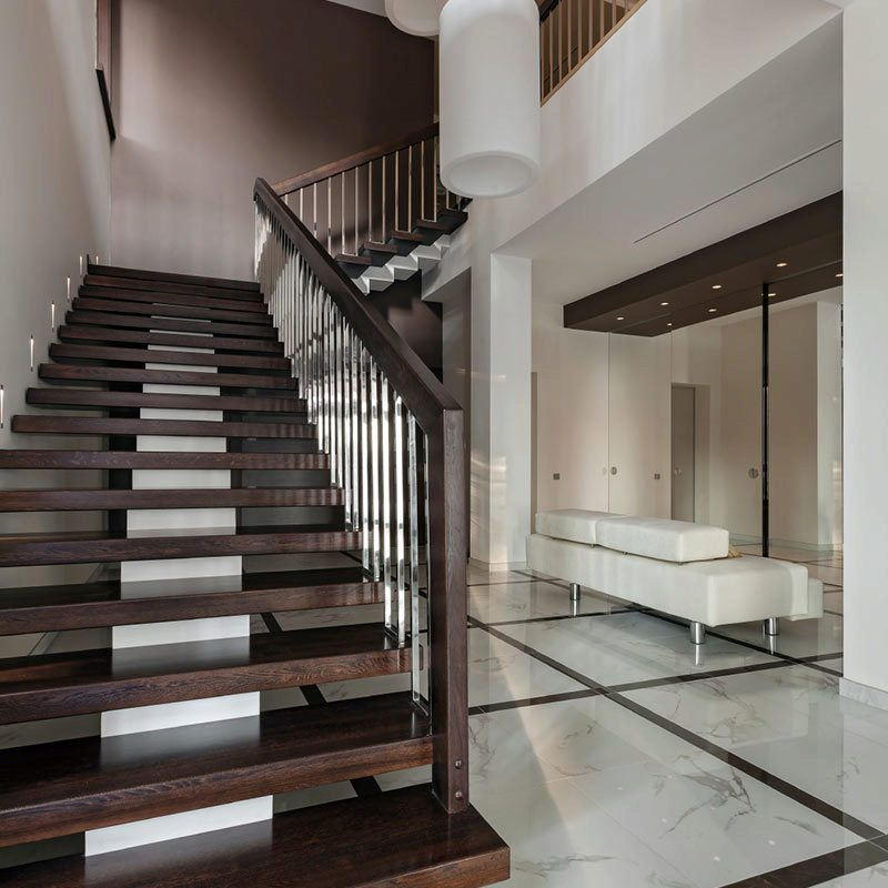 Staircases Stairways And Stairway: Want To Float? Choose Thick Treads