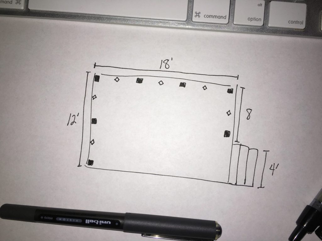 DIY Cable Rail Drawing 2