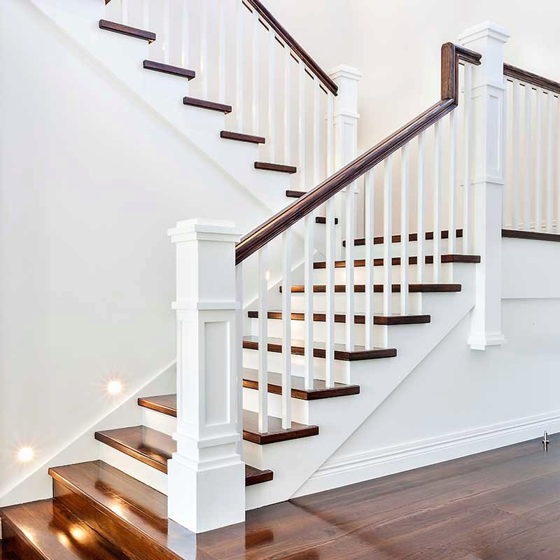 A Craftsman Style Stair Remodel Done Right | StairSupplies™