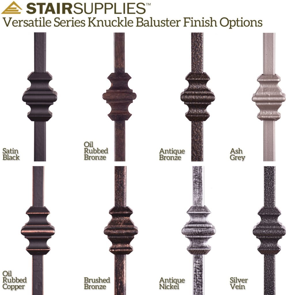 16 1 35 double knuckle iron baluster
