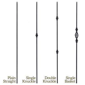 Versatile Series Iron Balusters
