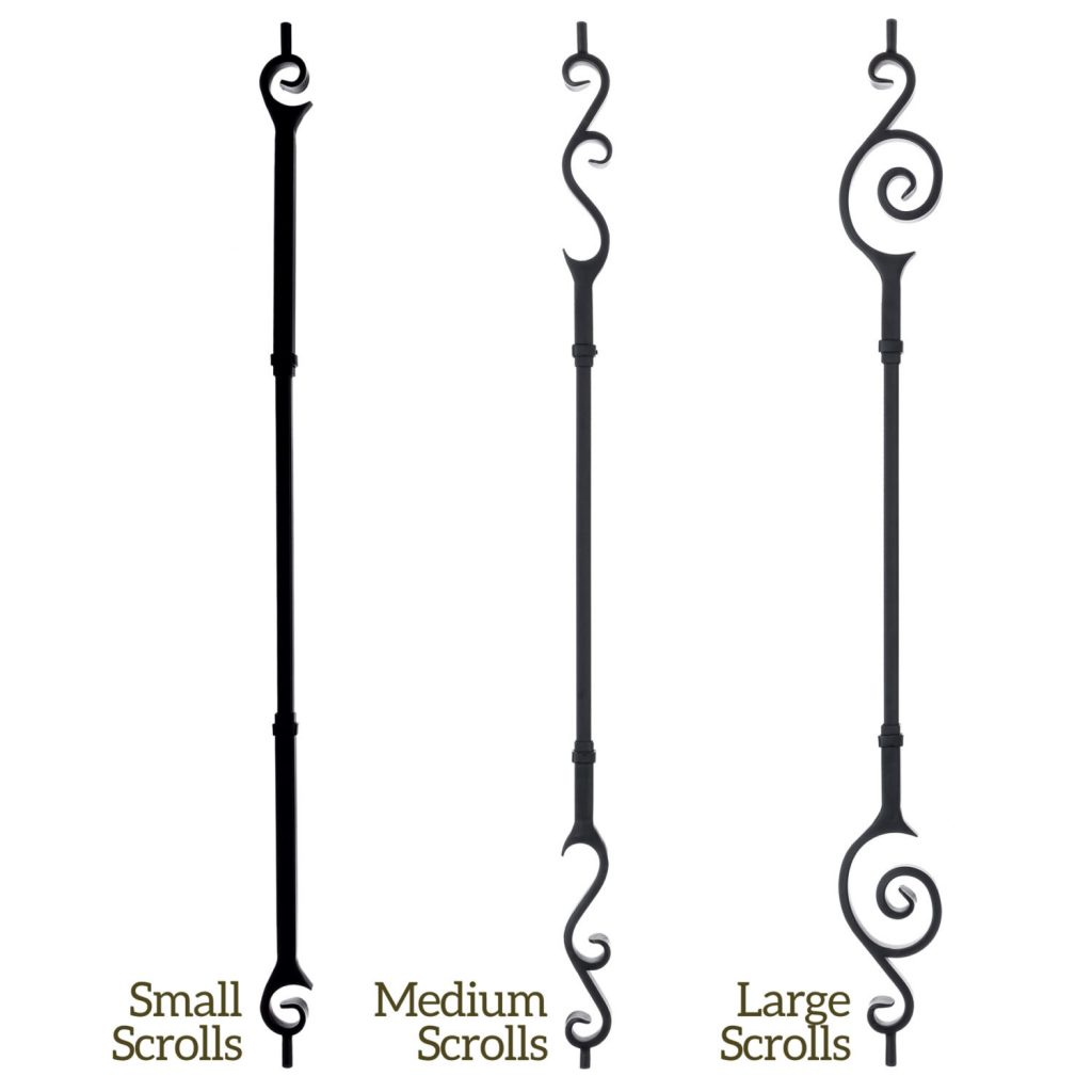 Endecor Series Iron Balusters