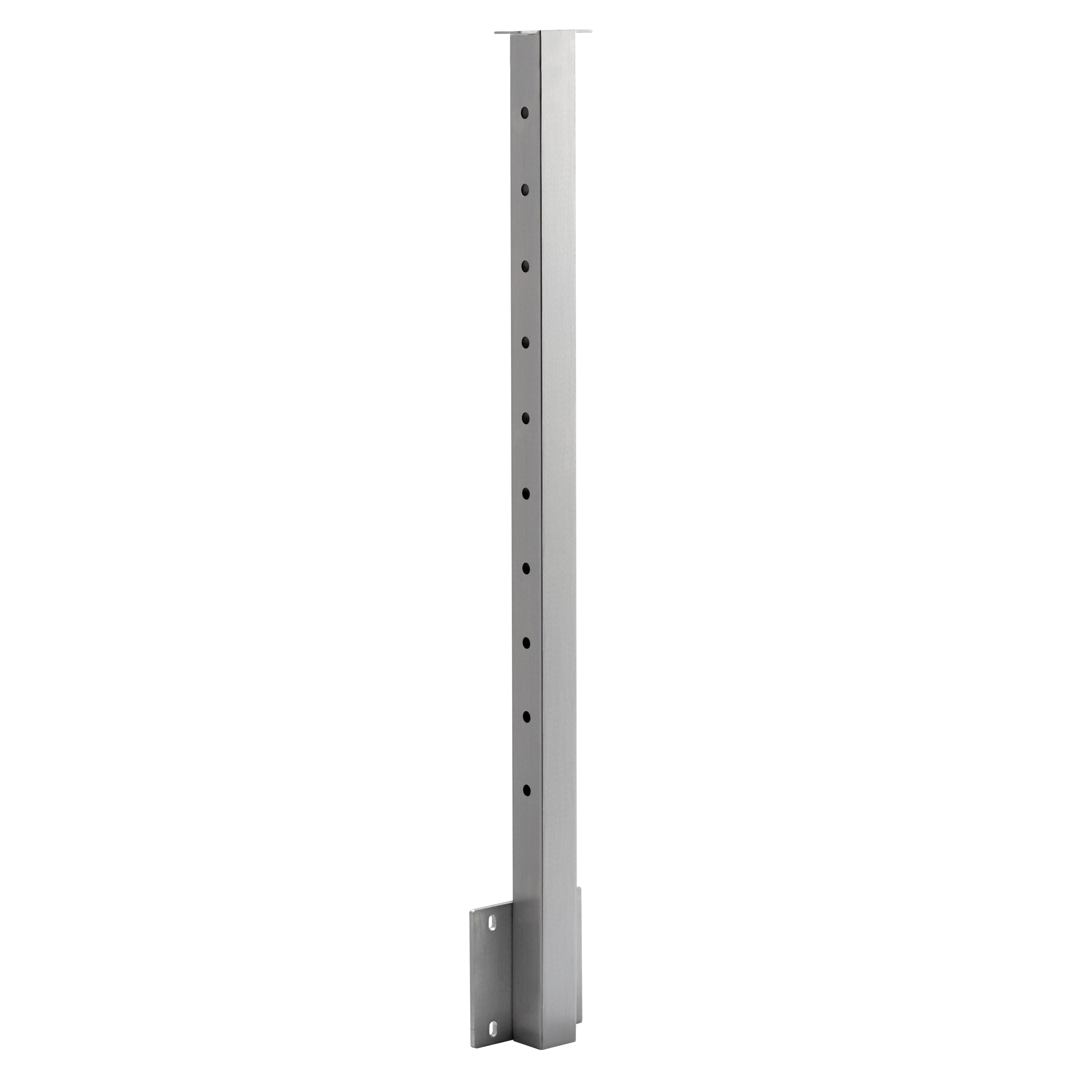 Side Mount Flat Top Square 2 Quot Cable Railing Post