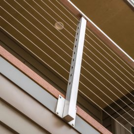 Side Mount (Fascia) Cable Railing Posts