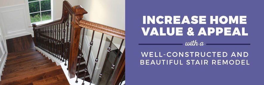 Increase home value with staircase remodeling stairsupplies for How to increase home value