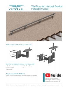 Wall Mounted Handrail Instructions
