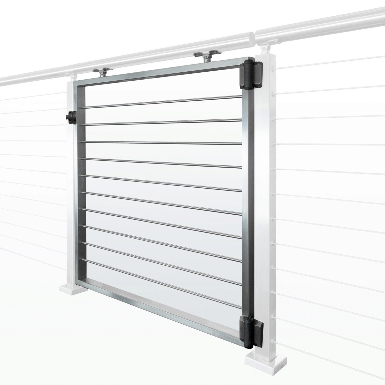 Cable Railing Gate Kit Universal Top Style