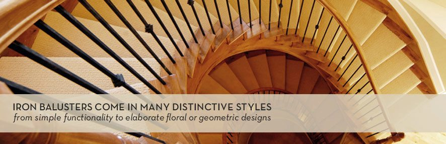 Iron Baluster Staircase Remodel