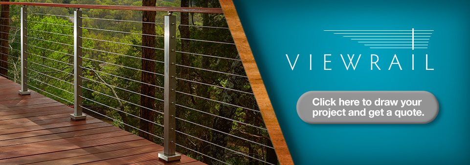 Side Mount (Fascia) Cable Railing Posts - StairSupplies™